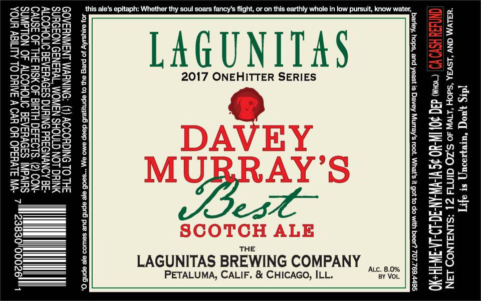 Lagunitas Davey Murray's Best Scotch Ale
