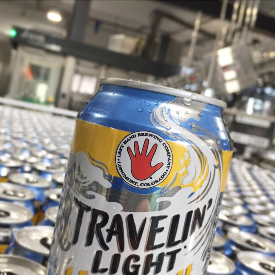 Left Hand Travelin' Light Kolsch