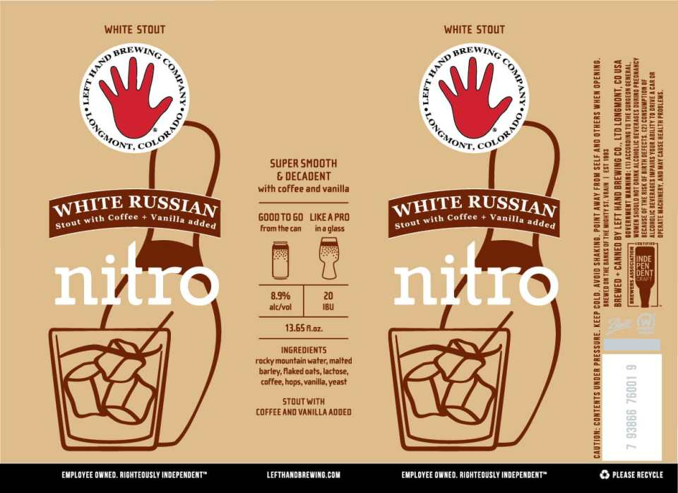 Left Hand White Russian Nitro