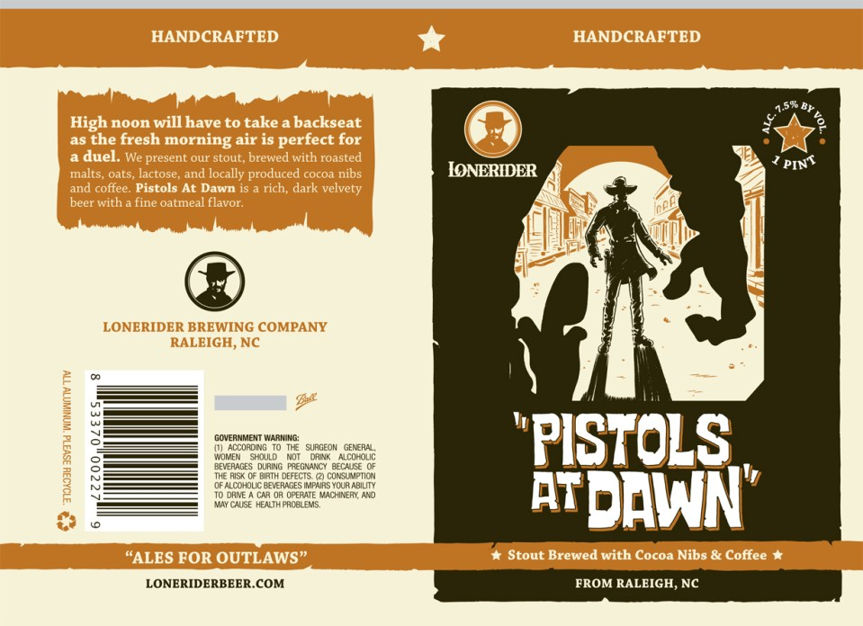Lonerider Pistols at Dawn Cans