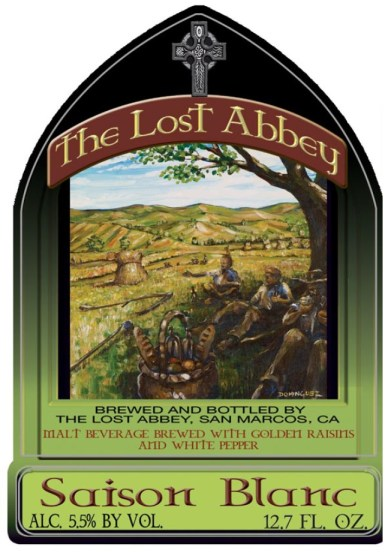 Lost Abbey Saison Blanc