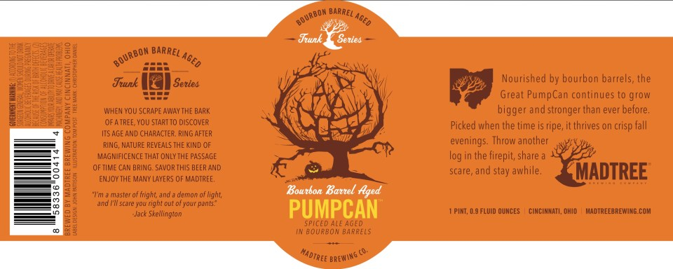 Madtree Bourbon Barrel Aged Pumpcan