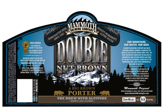 Mammoth Brewing Double Nut Brown