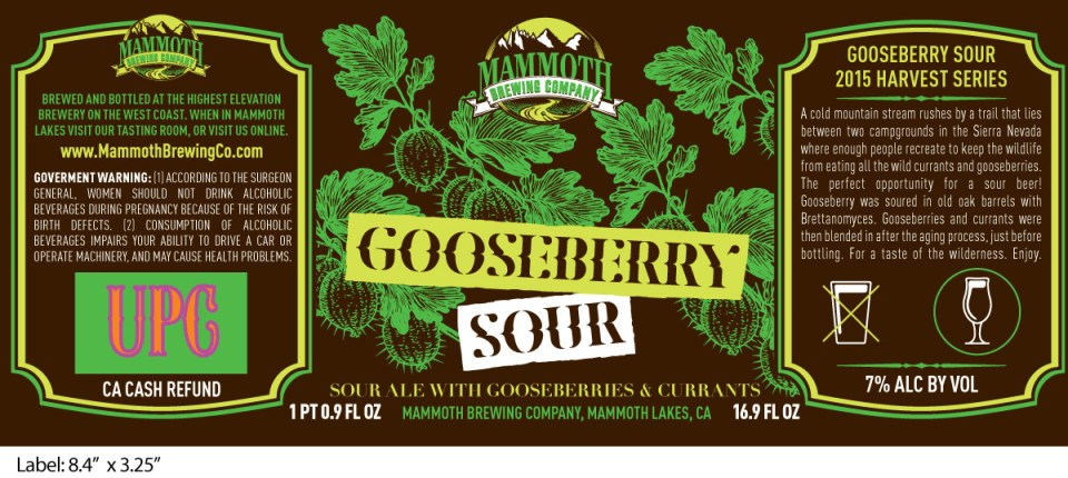 Mammoth Gooseberry Sour
