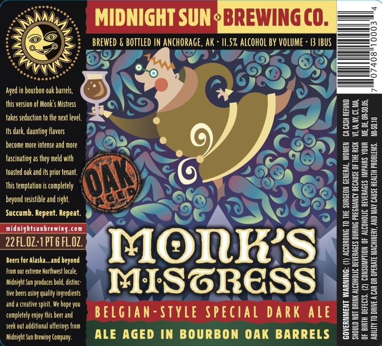 Midnight Sun Monk's Mistress