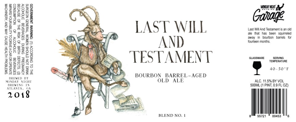 Monday Night Last Will and Testament