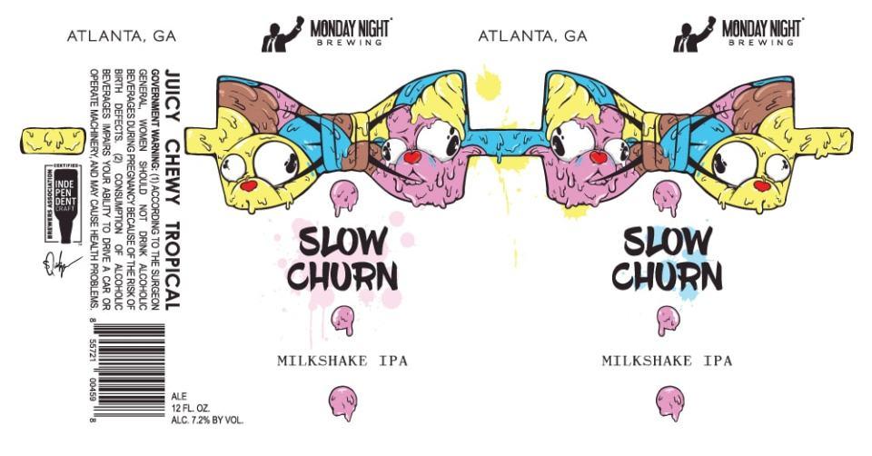 Monday Night Slow Churn Milkshake IPA