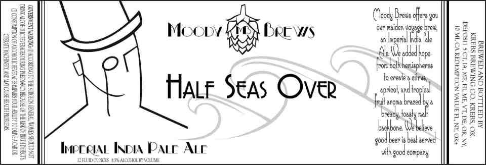 Moody Brews Half Seas Over Imperial IPA