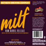 Mother's Brewing Rum Barrel MILF