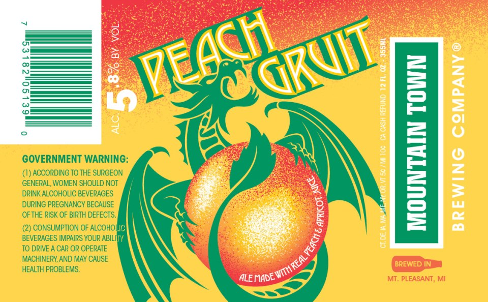 Mountain Town Peach Gruit