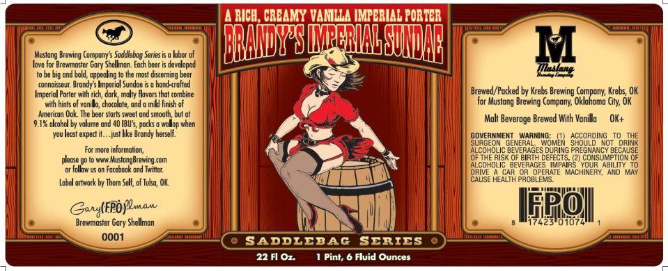 Mustang Brandy's Imperial Sundae