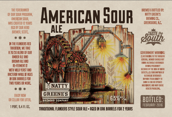 Natty Greene's American Sour 2016