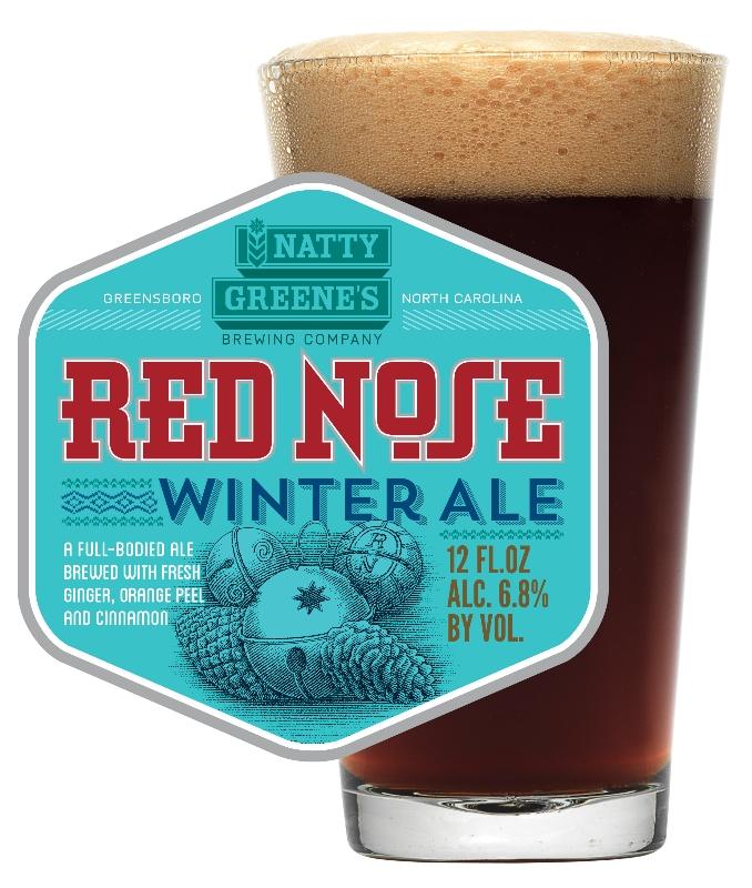 Natty Greene's Red Nose Winter Ale