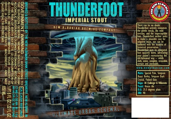New Albanian Thunderfoot