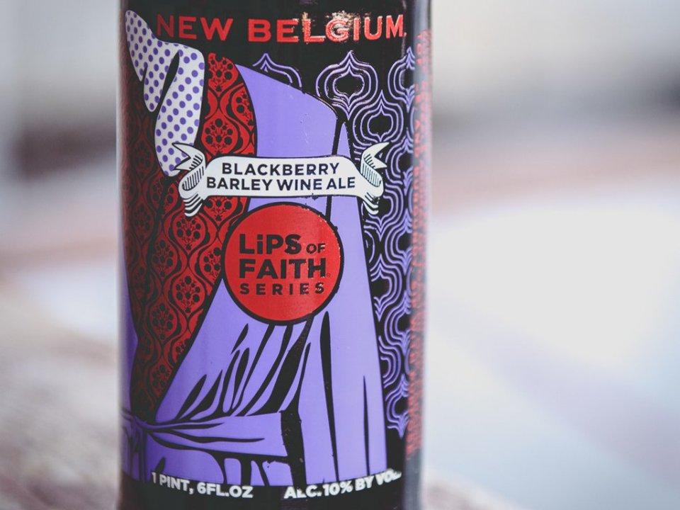 New Belgium Blackberry Barleywine Bottle