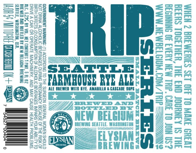 New Belgium Elysian Trip Farmhouse Ale