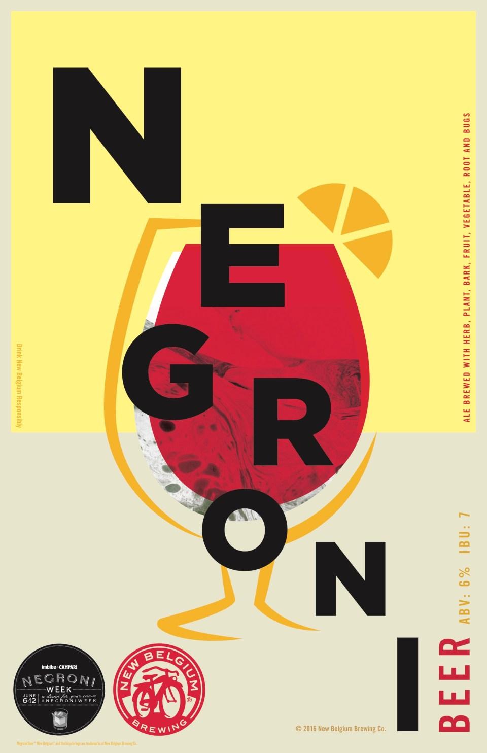 New Belgium Negroni Beer
