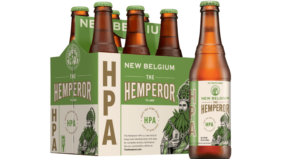 New Belgium The Hemperor