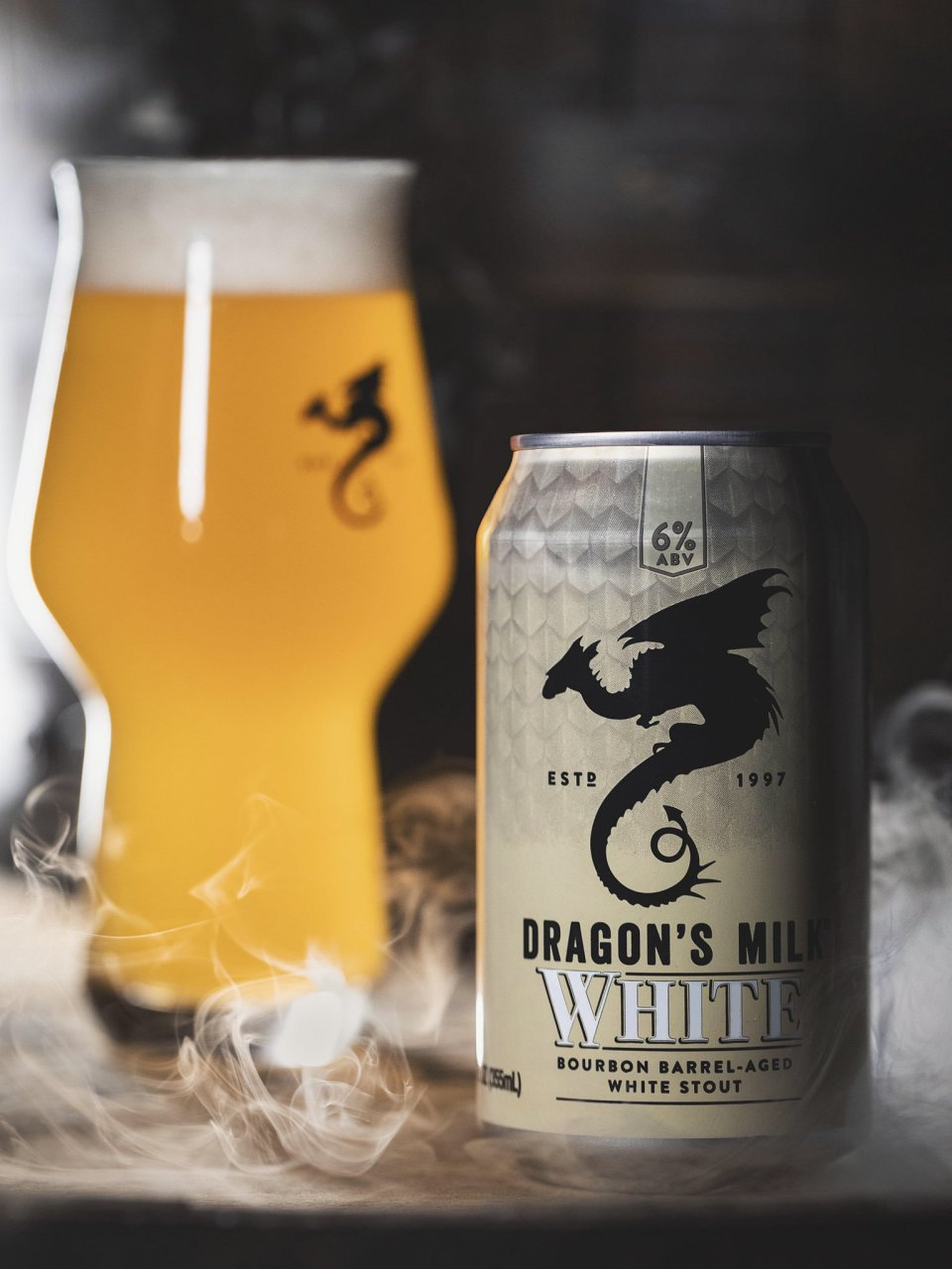 New Holland Dragon's Milk White