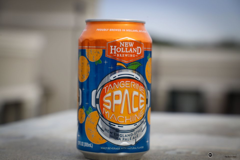 New Holland Tangerine Space Machine Can