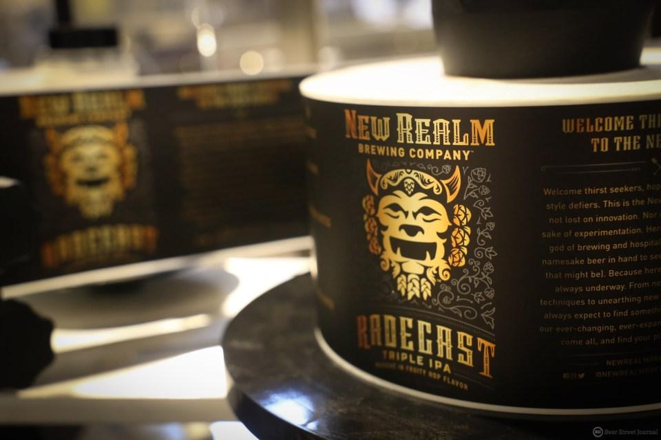 New Realm Radegast Triple IPA Labels