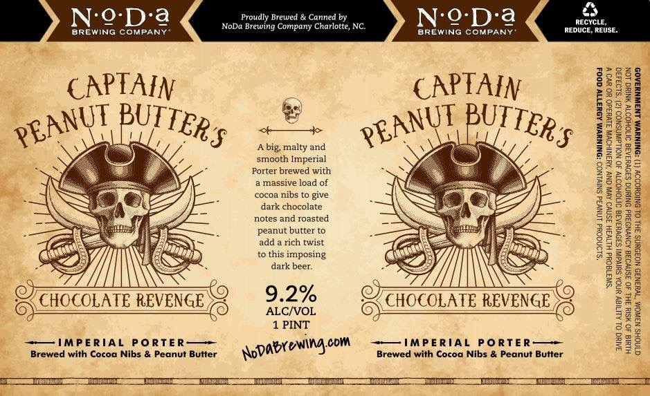 NoDa Captain Peanut Butter's Chocolate Revenge
