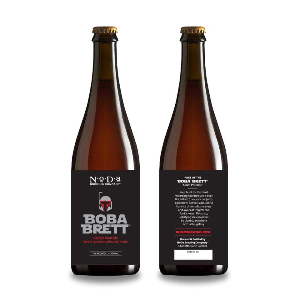 Noda Boba Brett Golden Sour Ale
