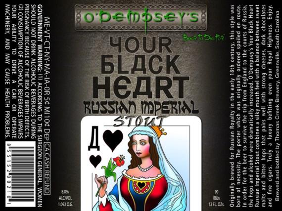 O Dempseys Your Black Heart