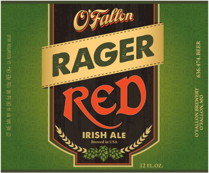 O'Fallon Rager Red Irish Ale