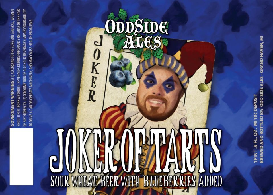 Odd Side Ales Joker of Tarts