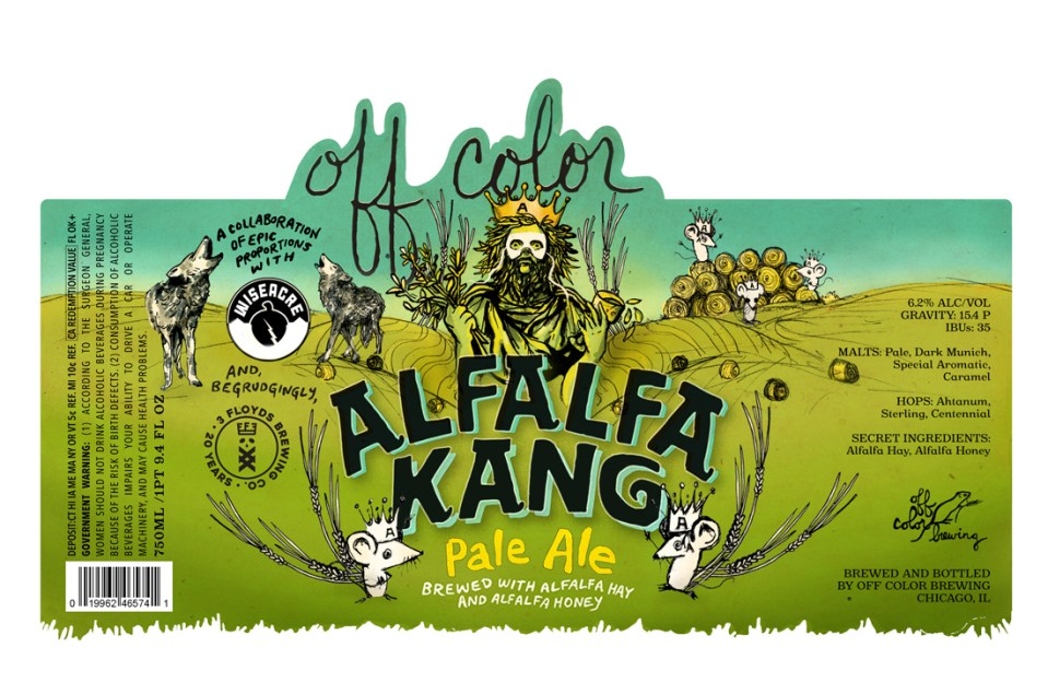 Off Color Alfalfa King Pale Ale