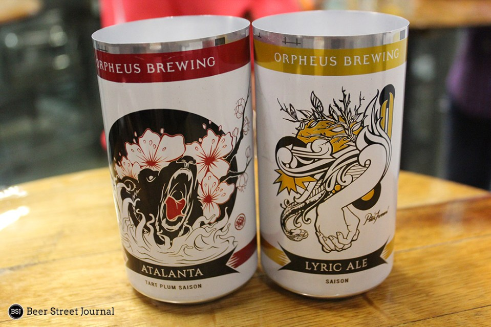 Orpheus Brewing Cans