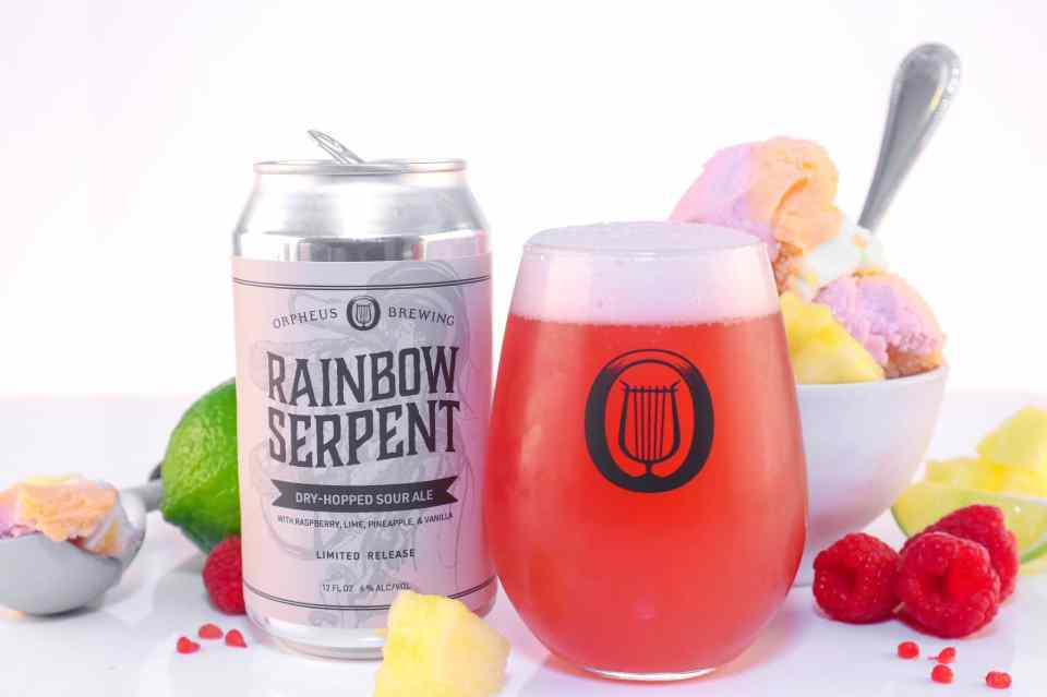 Orpheus Brewing Rainbow Serpent