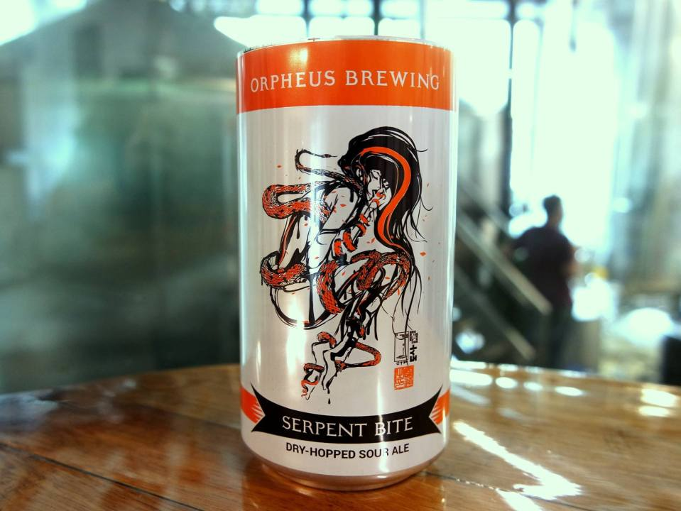 Orpheus Brewing Serpent Bite can
