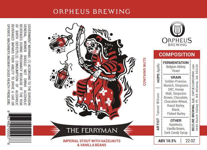 Orpheus The Ferryman Imperial Stout