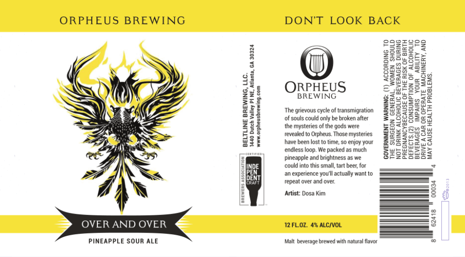 Orpheus Over and Over