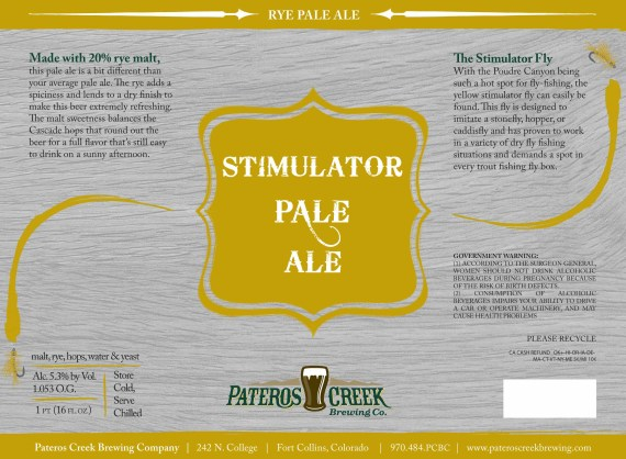 Pateros Creek Stimulator Pale Ale
