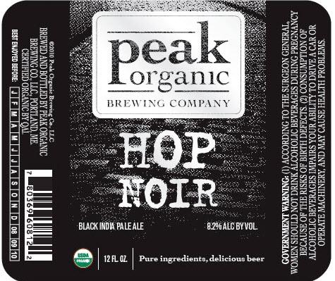 Peak Hop Noir 12oz