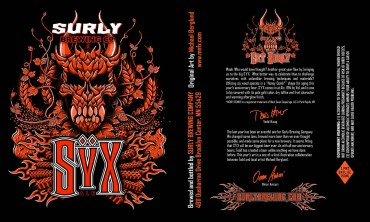 Surly Syx - American Strong Ale, 14.5% (2012)