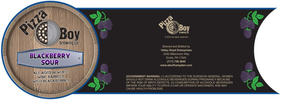 Pizza Boy Blackberry Sour