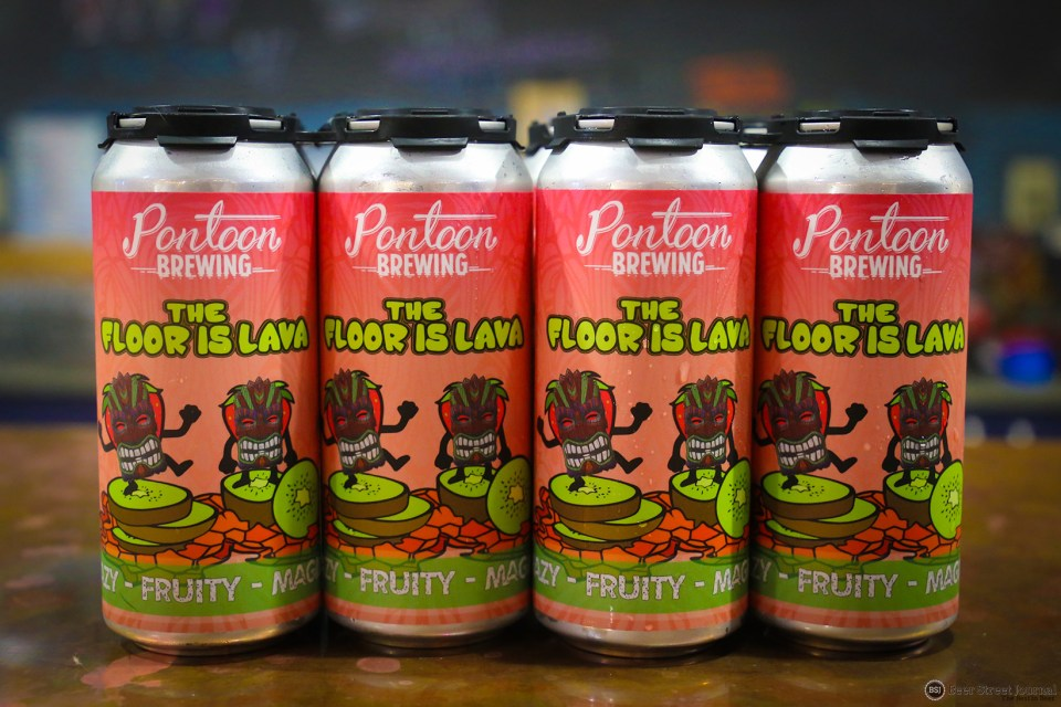 Pontoon Brewing The Floor Is Lava