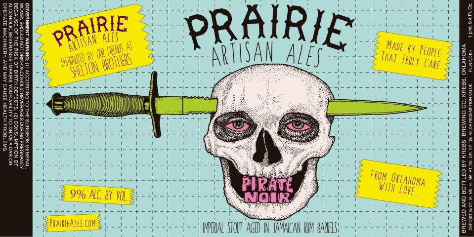 Praire Artisanal Ales Pirate Noir