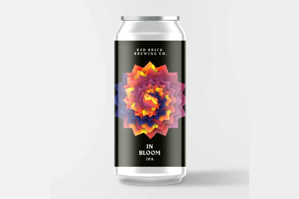 Red Brick In Bloom Modern IPA
