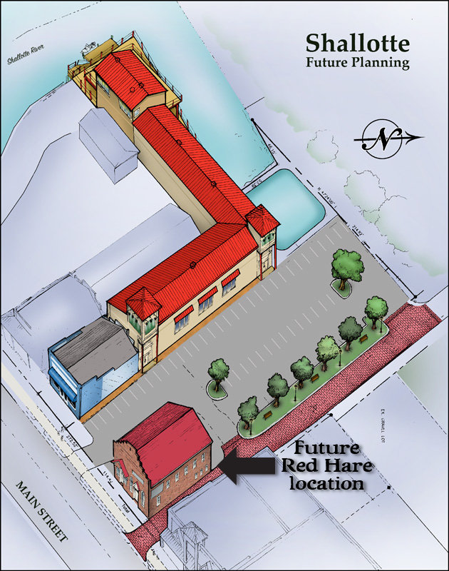 Red Hare Location Shallotte Rendering