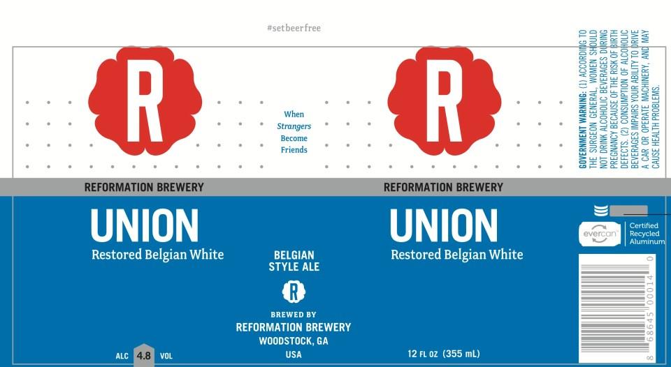 Reformation Union Restored Belgian White