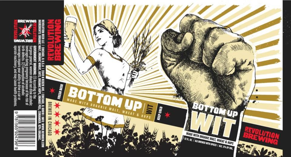 Revolution Brewing Bottoms Up Wit