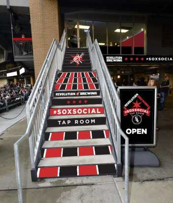 Stairs above Section 157