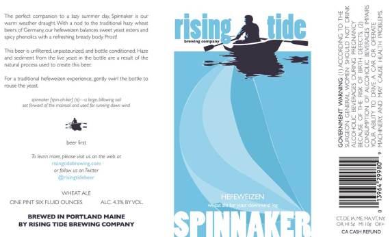Rising Tide Spinnaker Hefeweizen