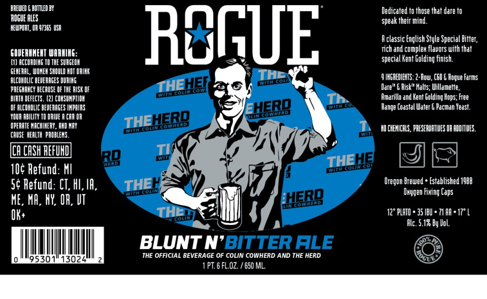 Rogue Blunt N' Bitter Ale