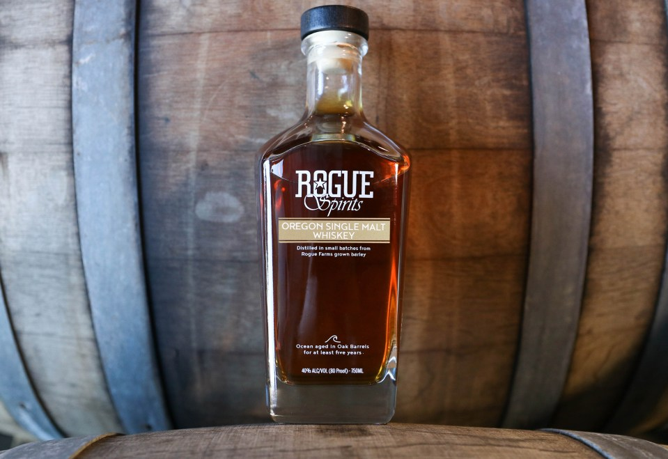 Rogue Oregon Single Malt Whiskey